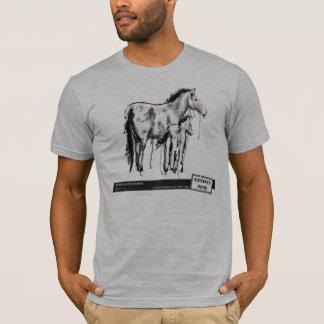 Camiseta O cavalo de Przewalski, pela cotovia de Laura