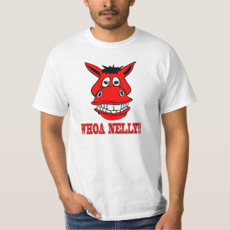 Camiseta O cavalo diz Whoa Nelly
