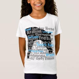 """Camiseta O """"cavalo produz"""" a juventude T"""
