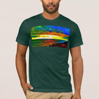 Camiseta O céu havaiano projeta-me o T dos homens da