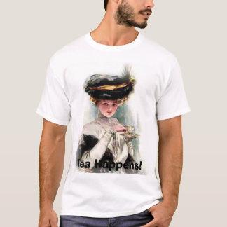 Camiseta O chá acontece