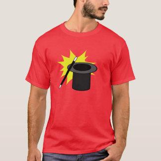 Camiseta O chapéu do mágico da mágica mim