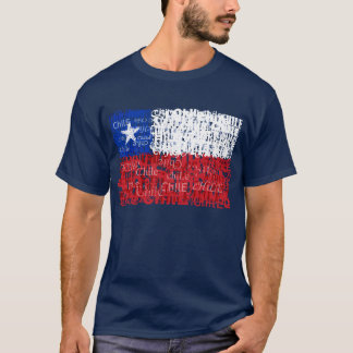 Camiseta O Chile Textual
