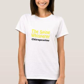 Camiseta O Chiropractor do Whisperer da espinha