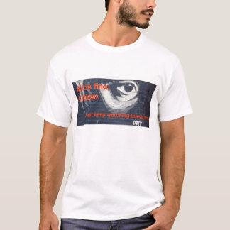 Camiseta O cidadão obedece