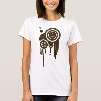 Camiseta O círculo visa o gotejamento