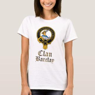 Camiseta O clã escocês do Tartan da crista de Barclay