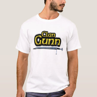 Camiseta O clã Gunn inspirou Scottish