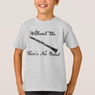 Camiseta O clarinete caçoa' o T básico de Hanes Tagless