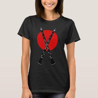 """Camiseta O clarinete """"X"""" marca o ponto para músicos da"""