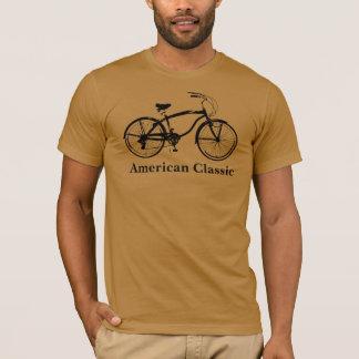 """Camiseta O clássico """"americano """" dos homens"""