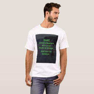 Camiseta O clique fácil & substitui a imagem para criar