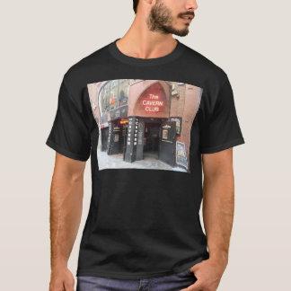 Camiseta O clube da caverna na rua do Mathew de Liverpool
