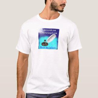 Camiseta O clube da poesia/anjos literários