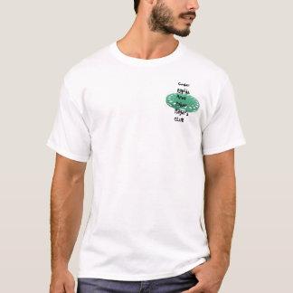 Camiseta O clube de jogador de póquer da área de Cedar