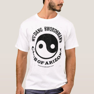 Camiseta O clube do Swordsman de Wu Dang da arizona