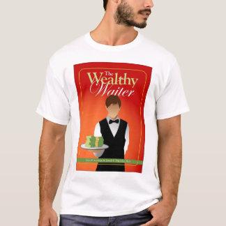 Camiseta O cobrir rico T do garçom