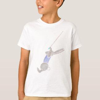 Camiseta O coelho no trapézio do vôo