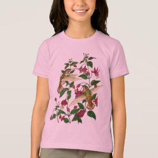 Camiseta O colibri de Allan com Fuschia