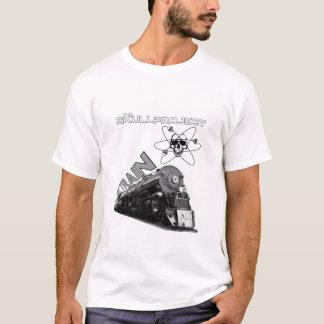 Camiseta O comboio de mercadorias T de SkullProject