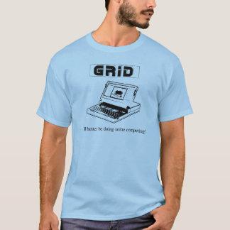 Camiseta O compasso da grade de Ol, padrinho dos laptop