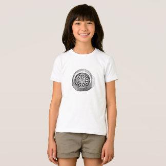 Camiseta O compasso do norte verdadeiro caçoa o T