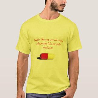 Camiseta o comprimido, pessoas como você é o reson porque
