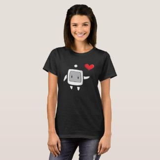 Camiseta O computador do amor!