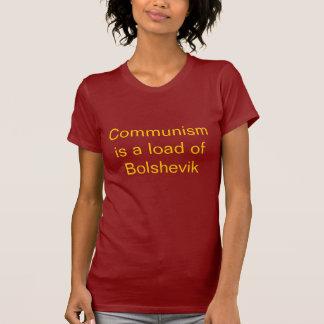 Camiseta O comunismo é uma carga de Bolshevik