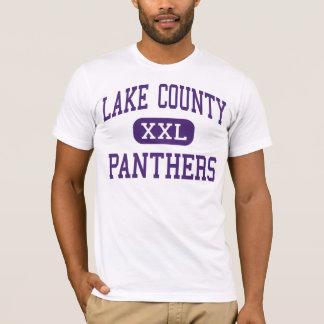 Camiseta O Condado de Lake - panteras - mais velho -