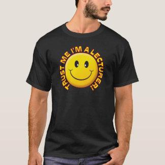 Camiseta O conferente confia-me sorriso