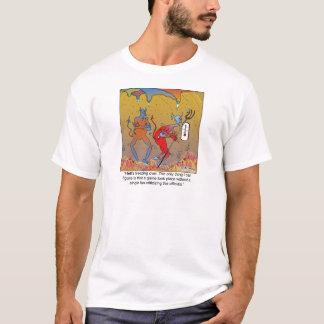 Camiseta O congelando do inferno sobre