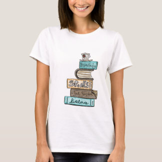 Camiseta o conhecimento de vol25- fala