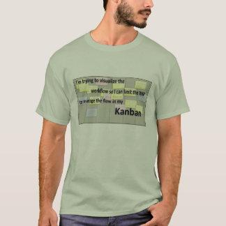 Camiseta O conselho ágil de Kanban