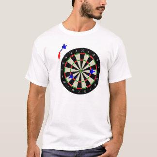Camiseta O conselho de dardo com dardos