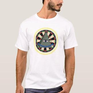 Camiseta O conselho de dardo de Illuminati