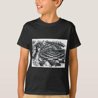 Camiseta O conselho de xadrez no país das maravilhas