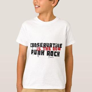 Camiseta O conservador é o punk rock novo