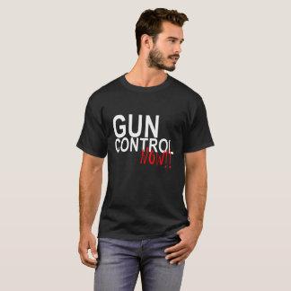 Camiseta O controlo de armas PROTEGE agora os ALUNOS SHIR