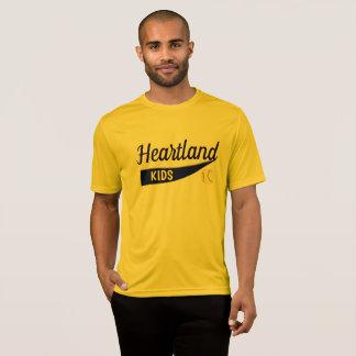 Camiseta O coração caçoa o softball