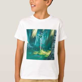 Camiseta O coração da floresta