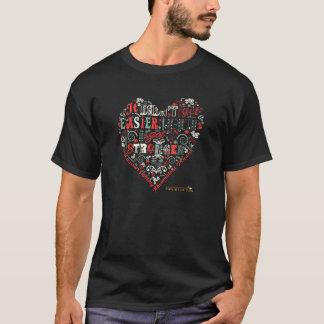 Camiseta O coração diz - mais forte