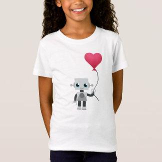 Camiseta o coração do robô
