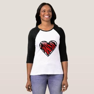 Camiseta O coração do t-shirt