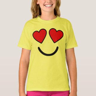 Camiseta O coração Eyes o t-shirt imediato do traje de