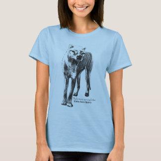 Camiseta O cornetim, Cynocephalus do Thylacinus