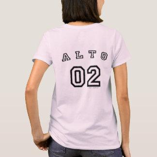 Camiseta O coro cultiva o t-shirt das mulheres do alto 02