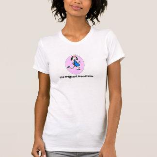 Camiseta O corredor grávido
