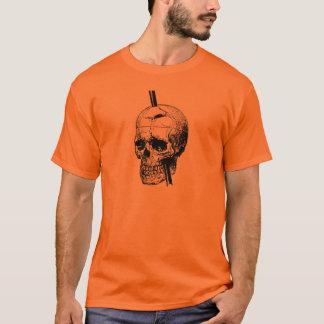 Camiseta O crânio de Phineas Gage
