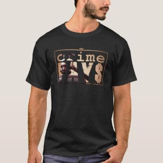 Camiseta O crime paga